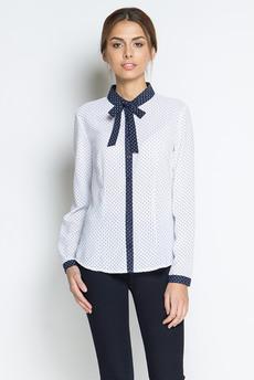 ХИТ продаж: блузка с длинными рукавами и галстуком-завязкой Marimay